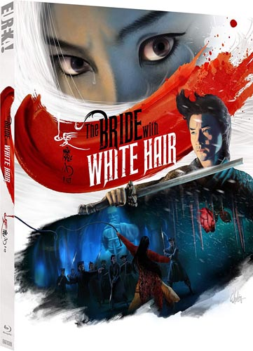 the bride with white hair bluray